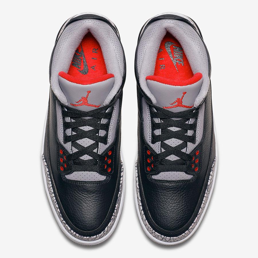 Nike Air Jordan 3 Retro Black Cement 2018 (854262-001) - Top