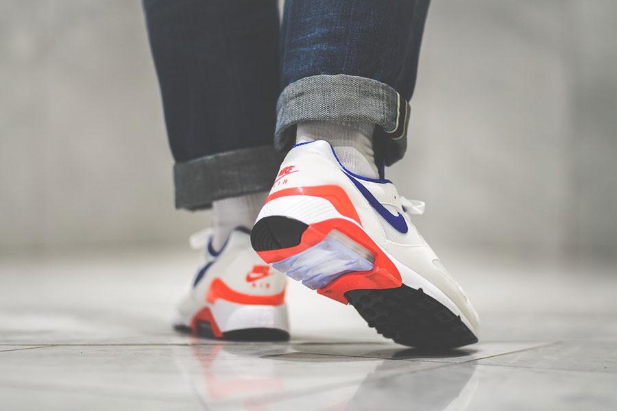 Nike Air max 180 OG (615287-100) - On feet (Back)