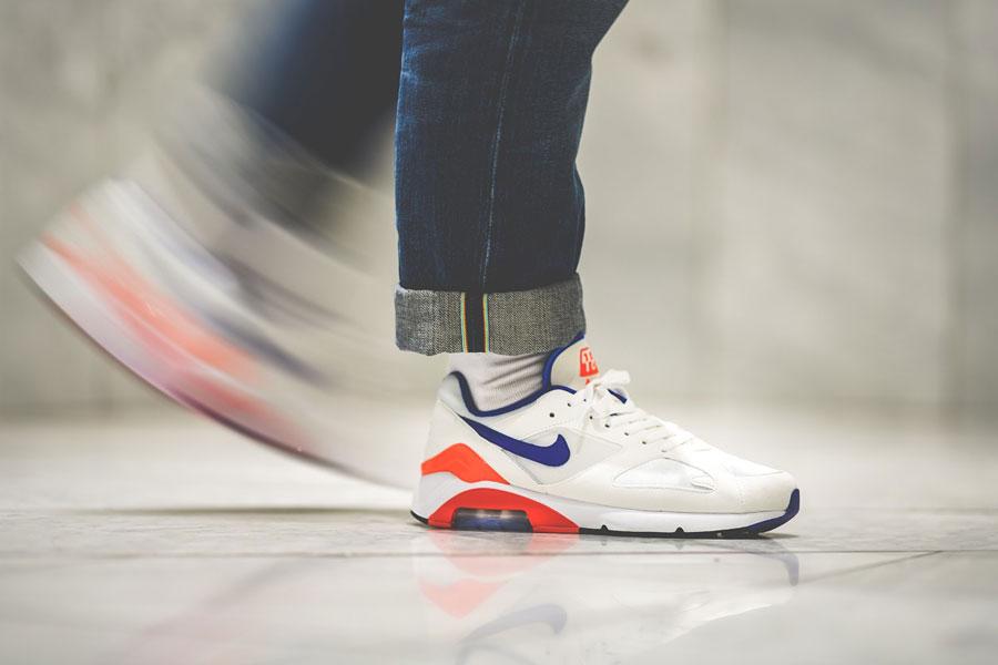 Nike Air max 180 OG (615287-100) - On feet