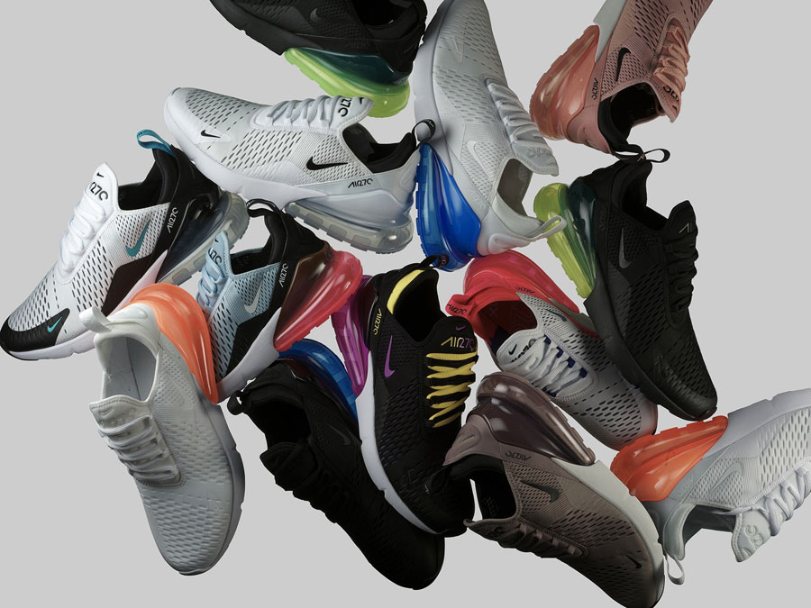 Nike Air Max 270 - Colorways 2018