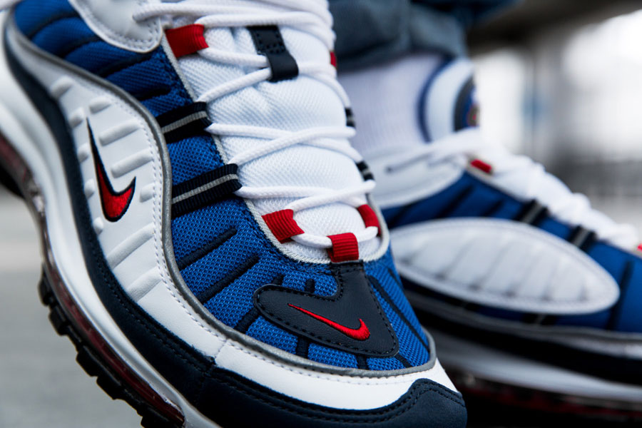 Nike Air Max 98 2018 Releases - Gundam 640744-100 (Toebox)