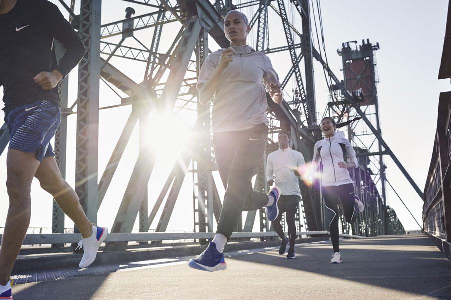 Nike Epic React Flyknit - On feet