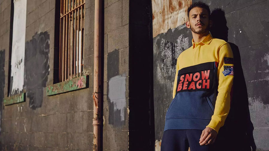 Polo Ralph Lauren Snow Beach Collection 2018 - Rugby Shirt