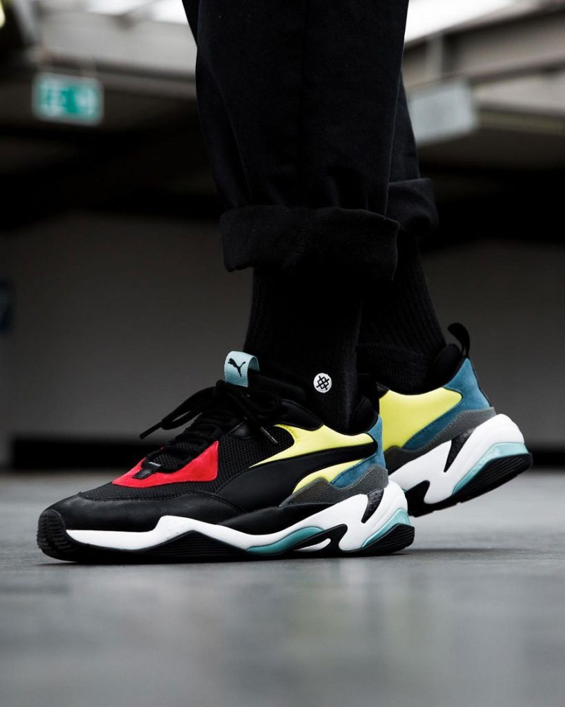 PUMA Thunder Spectra - On feet (Side)