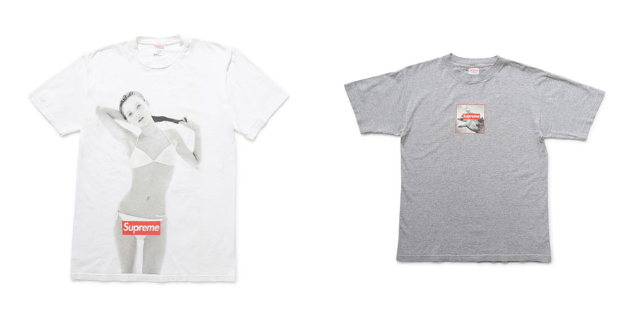 Ross Wilson Supreme Collection - The Idle Man (Wilson's Vaults) - Kate Moss and Logo Tee