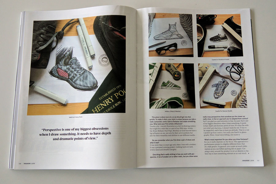 Sneakers Mag January 2018 - John Kaiser Knight
