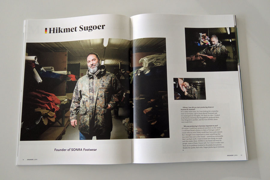 Sneakers Mag January 2018 - Made In Germany