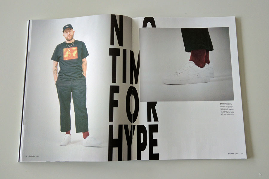 Sneakers Mag January 2018 - No Time For Hype