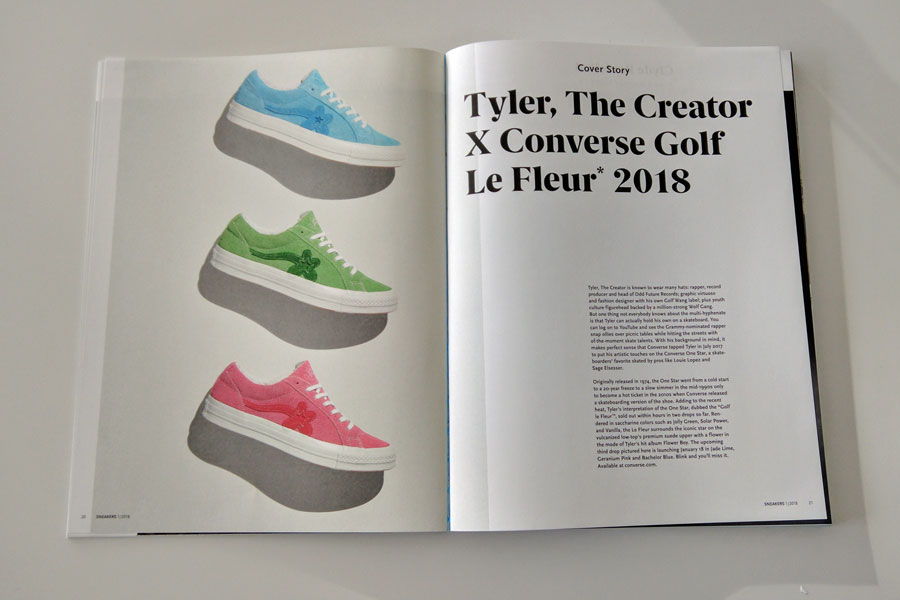 Sneakers Mag January 2018 - Tyler x Converse