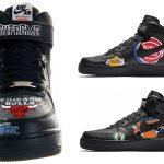 Supreme x Nike Air Force 1 Mid 07 NBA - Mock-Up