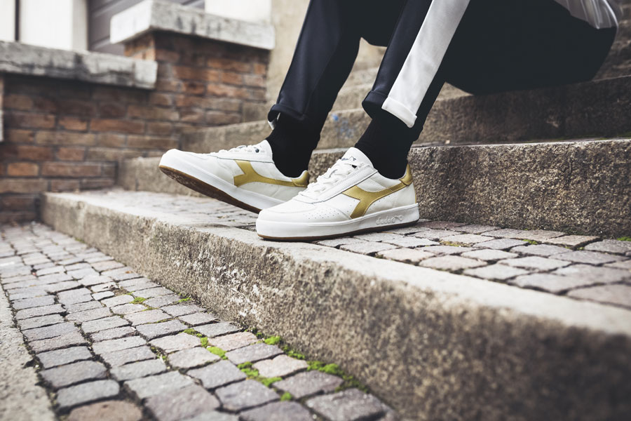 5 Facts About the Diadora B Elite - L White Gold (On feet)
