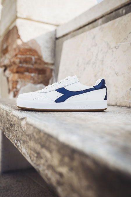 5 Facts About the Diadora B Elite - L White Saltire Navy