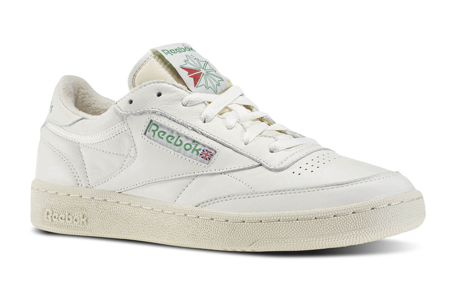 5 Sneakers We Don't Want to See Anymore in 2018 - Reebok Club C 85 Vintage Chalk