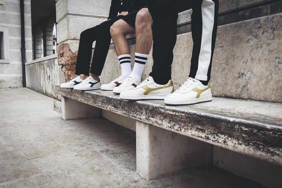 Diadora SS18 Sportswear Collection - B.Elite L (On feet)