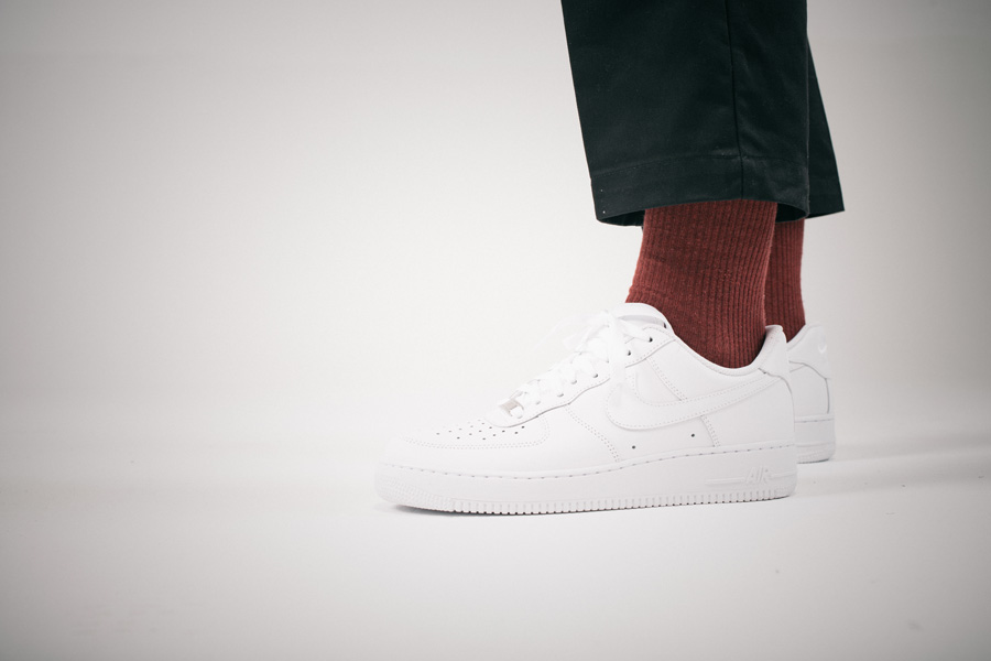General Releases - No Time For Hype - Bianco - Nike Air Force 1 (On feet)