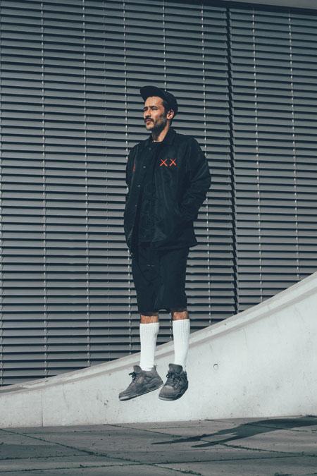 Koone - KAWS x Nike Air Jordan 4 (Black)