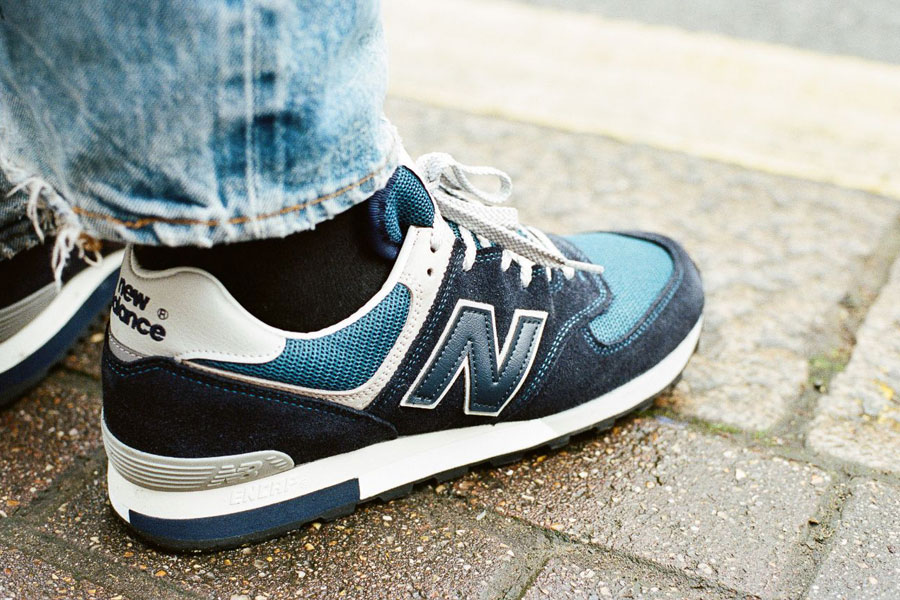New Balance 576 Made in UK OG Pack - OM576OGN (On feet Heel)