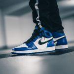 Nike Air Jordan 1 Retro High OG Game Royal (555088-403) - On feet
