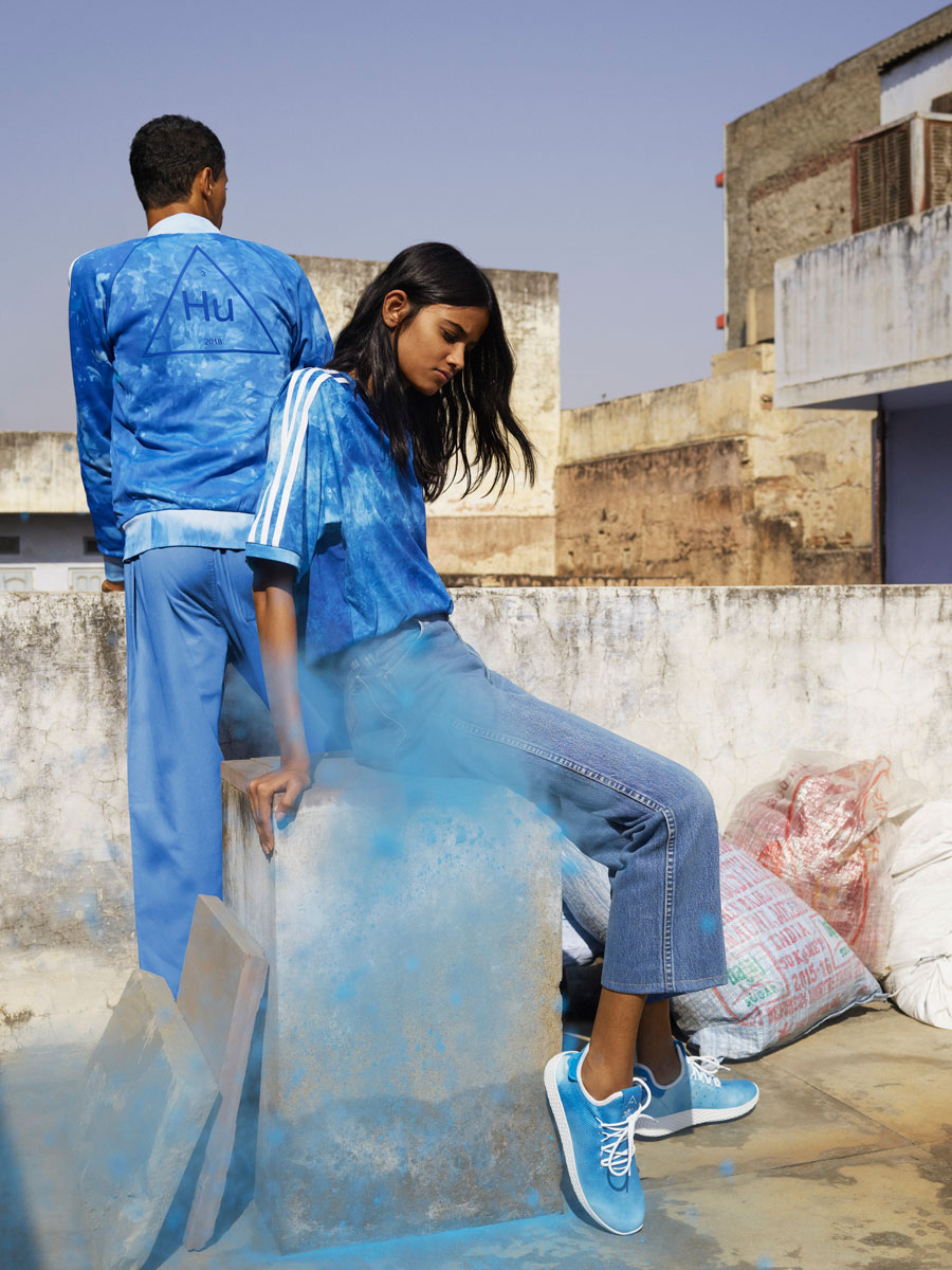 Pharrell Williams x adidas Hu Holi adicolor Collection - Blue