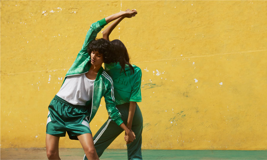 Pharrell Williams x adidas Hu Holi adicolor Collection - Green