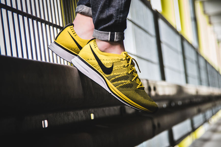 Sneakers for Less Than 100 € - NikeLab Flyknit Trainer Citron