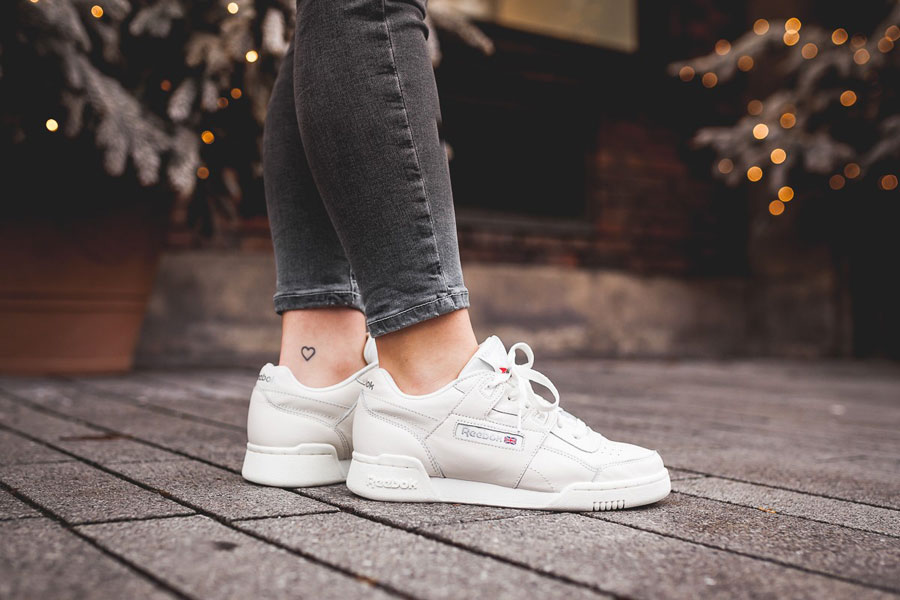 Sneakers for Less Than 100 € - Reebok WMNS Workout Plus (Met Silver)