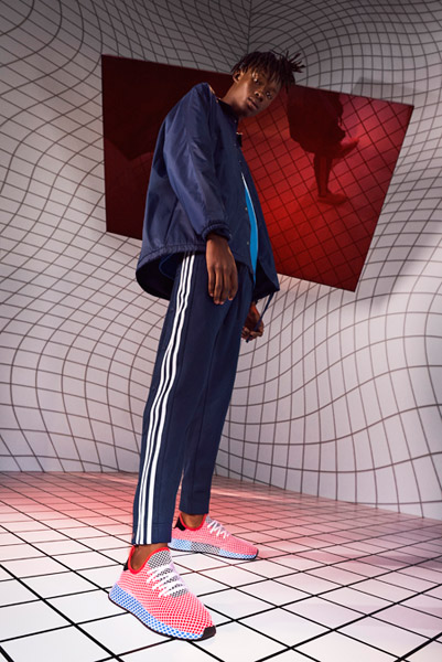 adidas Deerupt (CQ2624 Solar Bird) - On feet (Men)