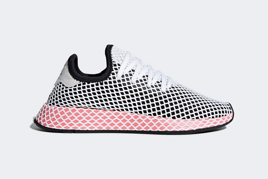 adidas Deerupt (CQ2909 Core Black Chalk Pink) - Side
