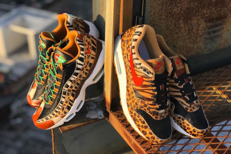 "atmos NYC Pre-Releases the Air Max ""Animal Pack"""