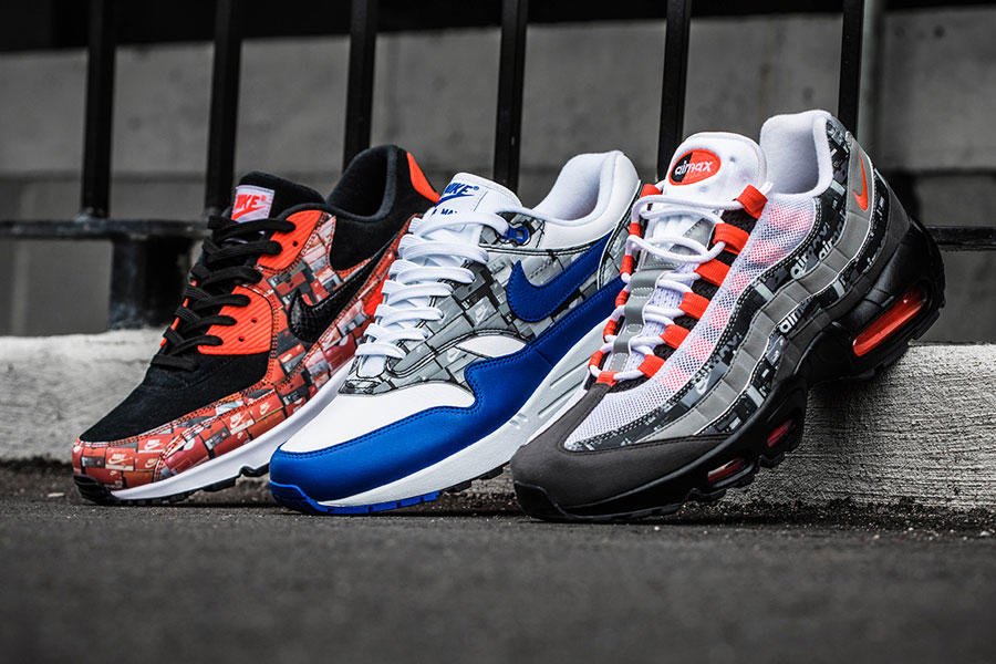 "New Pics of the atmos ""WE LOVE NIKE"" Air Max Pack"