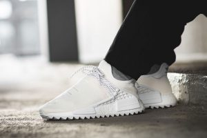 Best Sneakers of February 2018 - Pharrell Williams x adidas NMD Hu Trail Blank Canvas