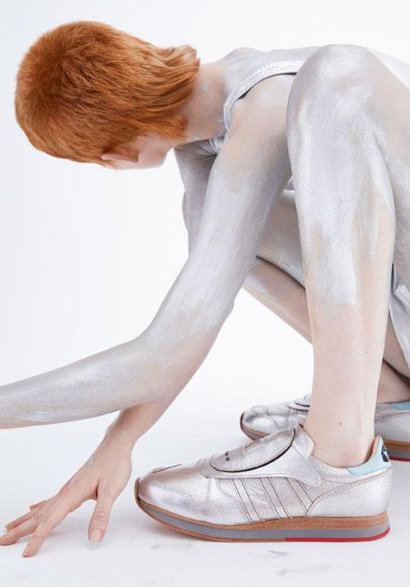 Hender Scheme x adidas 2018 Collection - Micropacer (On feet Close)