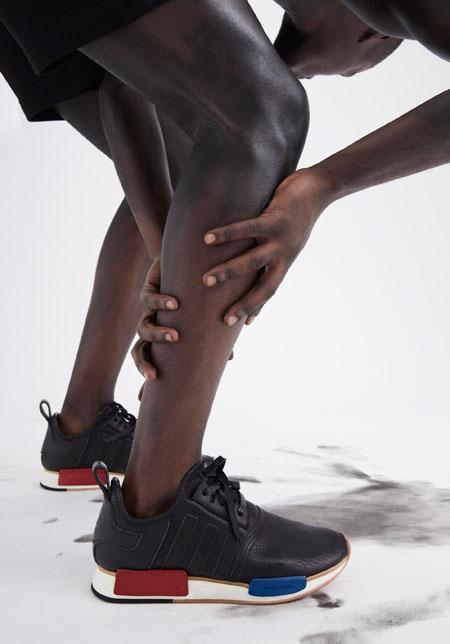 Hender Scheme x adidas 2018 Collection - NMD R1 OG (On feet Close)