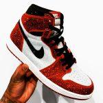 Nike Air Jordan 1 Chicago Winter - Swarovski Crystals