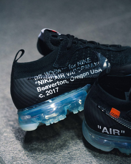 OFF-WHITE x Nike Air VaporMax Flyknit (AA3831-002) - Inner Side