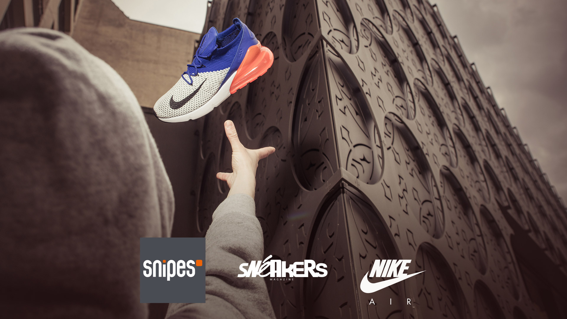 Snipes Shots in the Air - Sneaker Photography Contest Workshop (Slider)