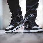 Nike Air Jordan 1 Retro High OG Shadow (555088-013) - On feet