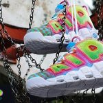 Nike Air More Uptempo Bel-Air Custom