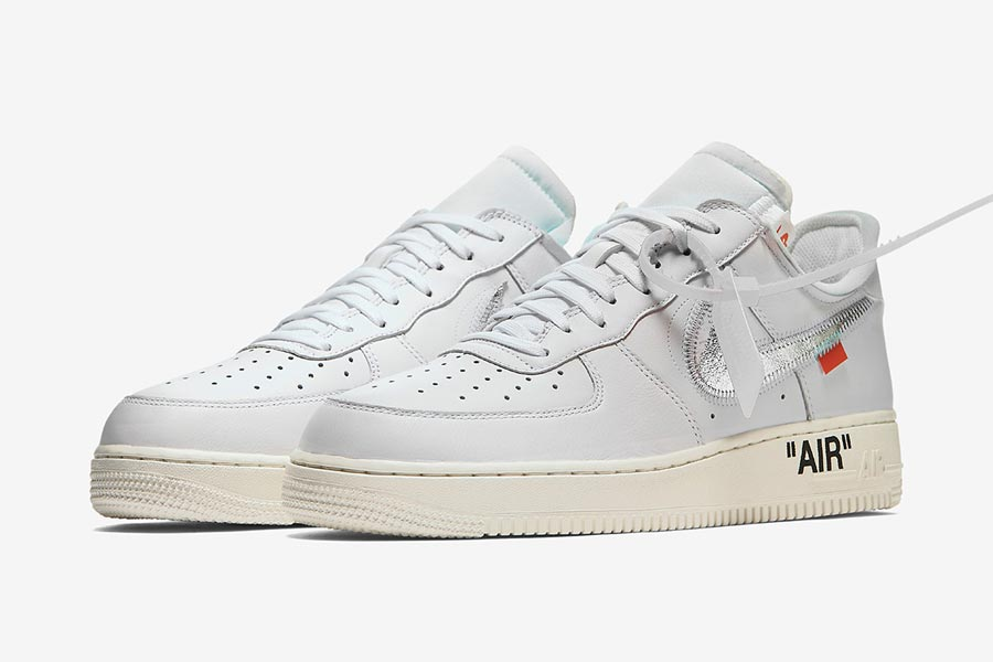 OFF-WHITE x Nike 2018 Releases - Air Force 1 Mid 07 White (AO4297-100)