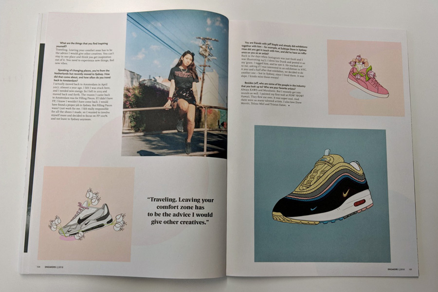 Sneakers Mag April 2018 (Issue 38) - Careaux