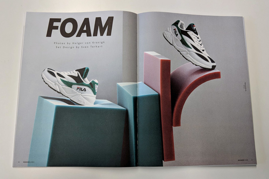Sneakers Mag April 2018 (Issue 38) - Foam