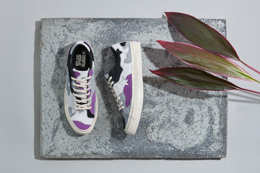 Sneakersnstuff x Converse One Star - Deep Lavender
