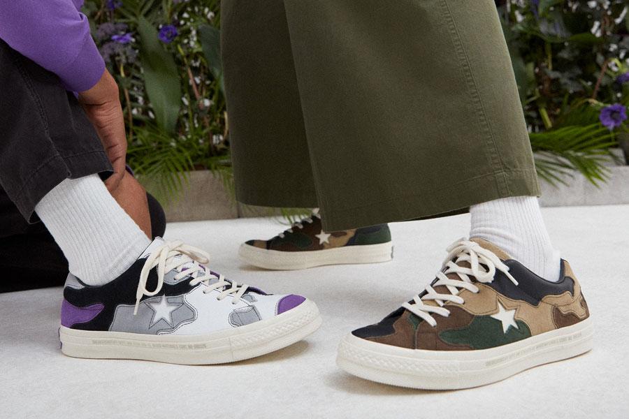 Sneakersnstuff x Converse One Star - On feet
