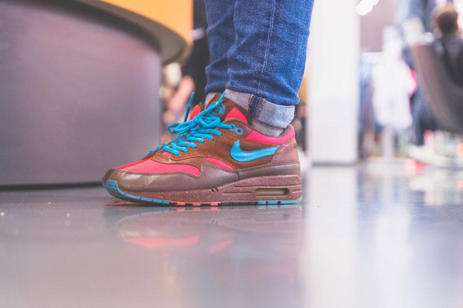 SNIPES presents The Customization of the Air Jordan 1 - Recap (Parra x Nike Air Max 1 Amsterdam)