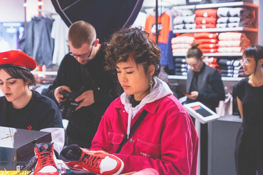 SNIPES presents The Customization of the Air Jordan 1 - Recap (Red Supreme)