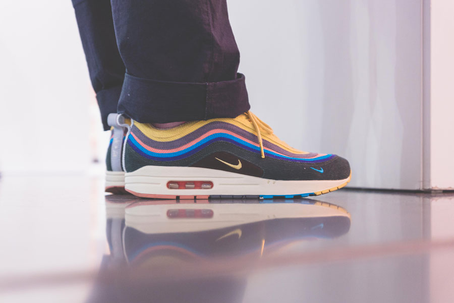 SNIPES presents The Customization of the Air Jordan 1 - Recap (Sean Wotherspoon x Nike Air Max 1 97 On feet)