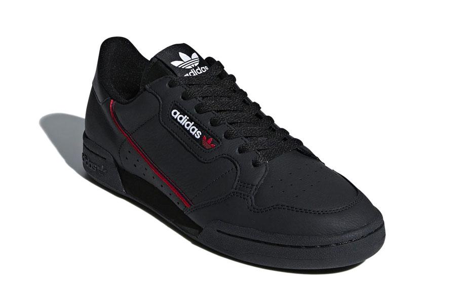 adidas Continental 80 Rascal Core Black (B41672) - Toe
