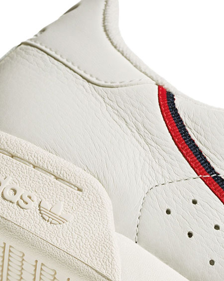 adidas Continental 80 Rascal White Tint (B41680) - Stripe