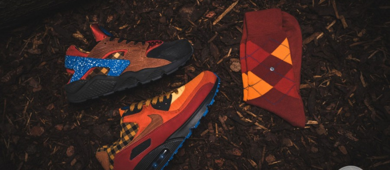 Nike Campfire Pack ft. 43einhalb x Burlington