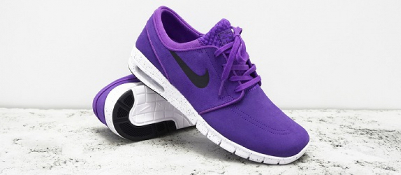 Nike SB Stefan Janoski Max L – Hyper Grape & Cool Grey Release Info